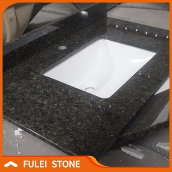 Price Verde Ubatuba Granite Bathroom Vanity Countertops Product On Alibaba