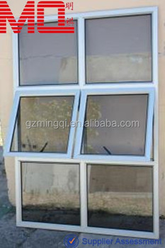 Insulated Double Glass Aluminium Awning Windows For Sale