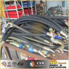 Cutted and crimped brand hydraulic hose and fitting for excavator Doosan DX140lc
