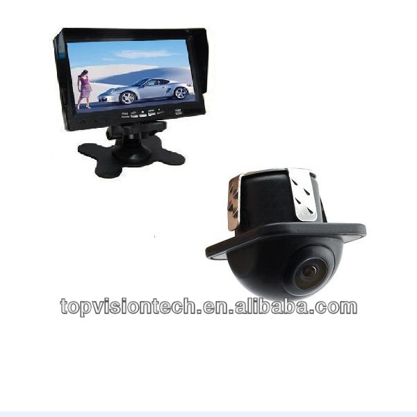 360 dgree camera with 7inch stand alone monitor rear view system
