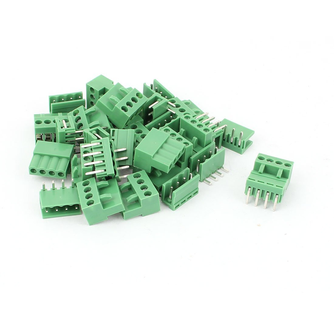 Pcb Fuse Holder Circuit Board Asi Cheap Pluggable Terminal Block Find Deals Get Quotations 16 Pcs 396mm Pitch 4 Pin Connector