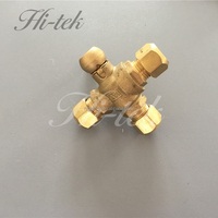 Brass plumping fittings brass compression fittings
