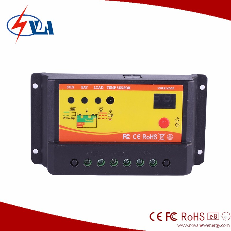 Top Quality 5A 12v/24v auto PWM Solar Charge Controller with Factory price