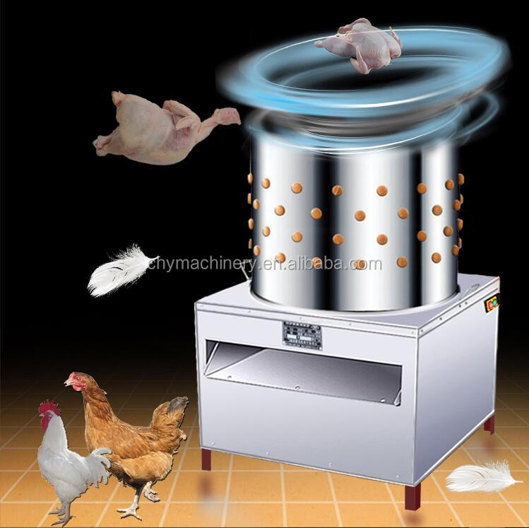 Excellent goods chicken plucker machine / poultry processing slaughtering equipment / hair removal machine