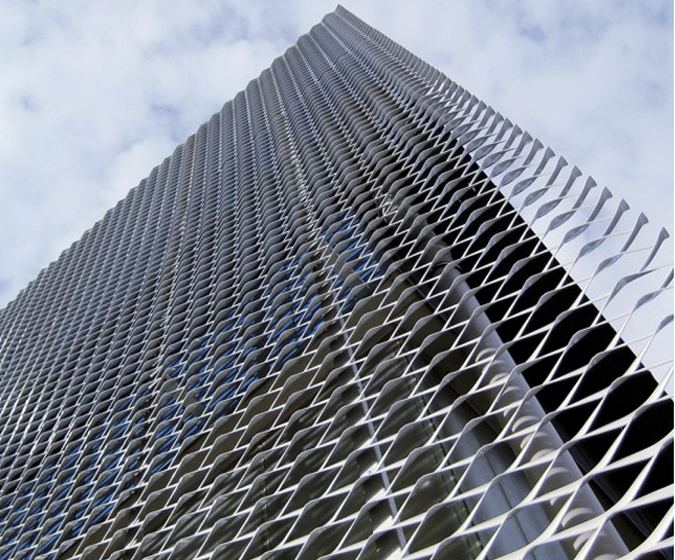 Stainless steel expanded wire mesh metal lath