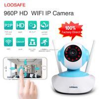 Top 10 Double Antennas HD WiFi IP Camera 960p Onvif Surveillance Camera 2 Way Audio Security Wireless IP Camera Baby Monitor