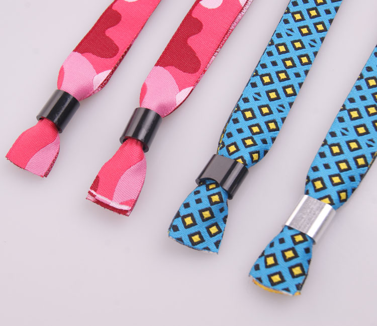 professionale personalizzato braccialetti tessuto festa nessun ordine  minimo/custom festival per eventi