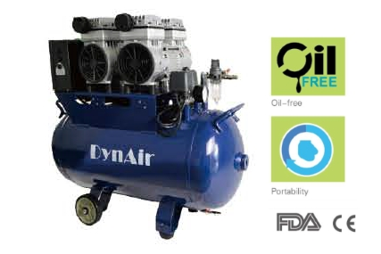 CE FDA approved silent dental air compressor