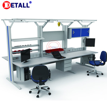 usaeu assembly work tables with modular design for quick ship stations