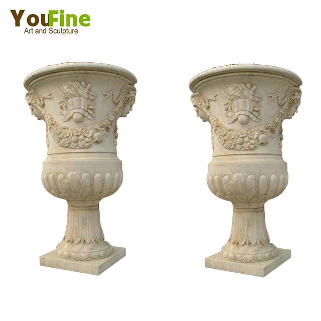 China Carved Marble Stone Vase Wholesale Alibaba