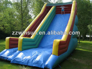 Mega Inflatable Edge Slide,single lane slide for hire