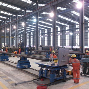 All-in-one Small Bore Production Line (C.S& S.S) In Workshop