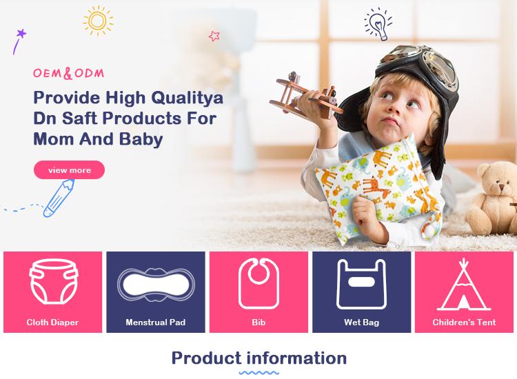 Üreticileri Çin toplu konfor içinde yeni özel logo toptan organik bez bebek bezi
