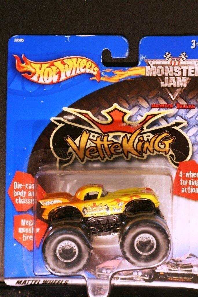 2000 Hot Wheels Monster Jam VETTE KING VETTEKING MONSTER Truck 1:64 Scale