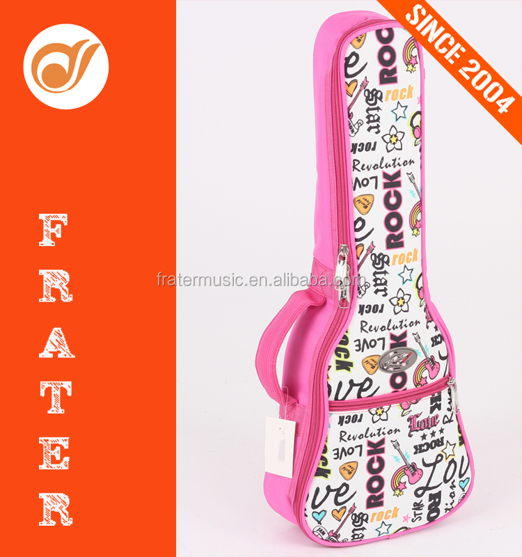 "FB-U 21"", 23"" and 26"" Oxoford Cloth Ukulele Gig Bag with 5mm thick pearl cotton padded and 5mm sponge"