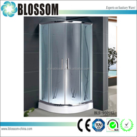 China cheap plastic glass portable shower for enclosures