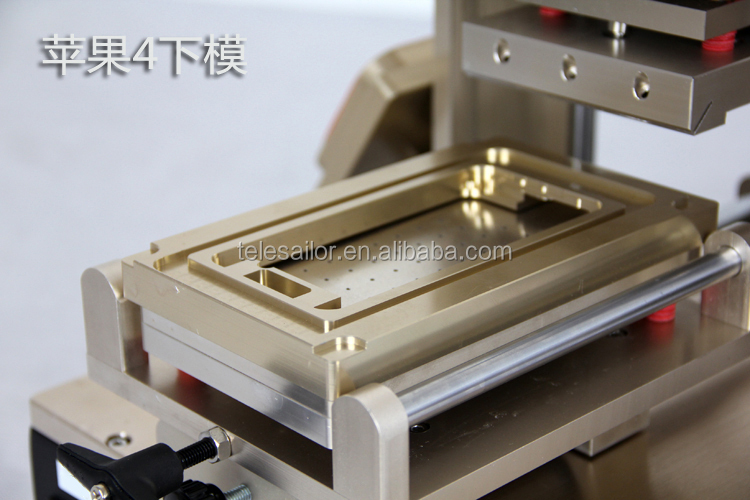 US /Europe free shipping, 5 In 1 Multifunction LCD Refurbish Seperator Machine AIDA A518 ,support for Iphone 4 /5 /6 and 6 plus
