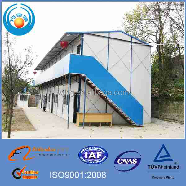 Environmental Friendly Fast Disassembly K Type Prefab House