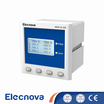 WGK-31-201 series intelligent lcd separate compensation and reactive compensation controller with modbus