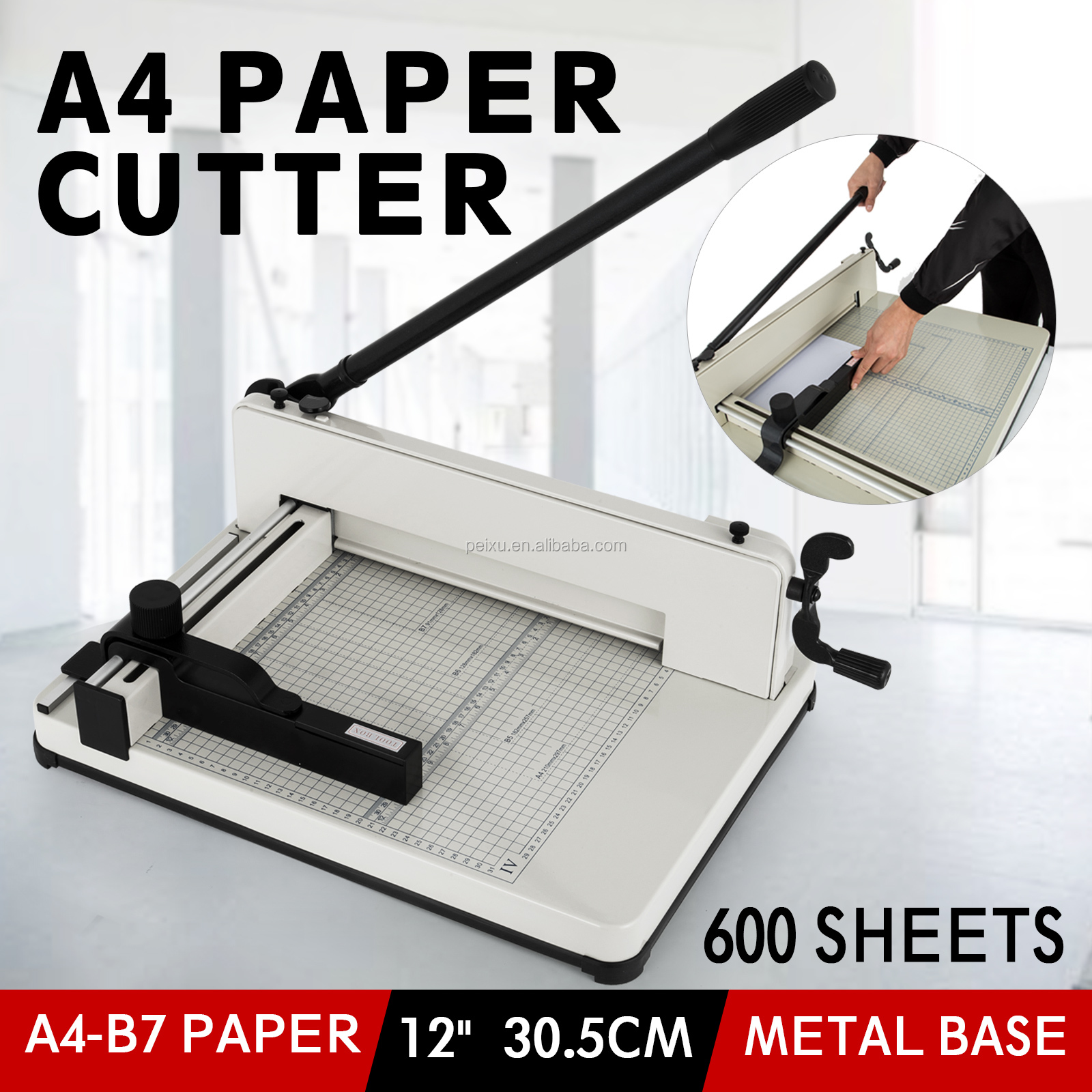 A4 Guillotine Cutter/Mesin Pemotong Kertas Harga dan Cutter Kertas Mati Mesin Pemotong Kertas
