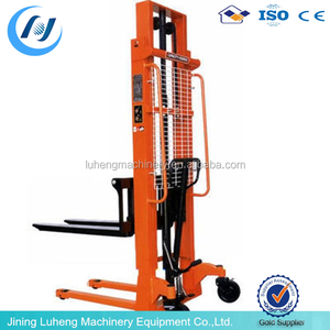 2000 kg Superior Hydraulic Manual Pallet Stacker/3M lifting height Used Forklift Forks