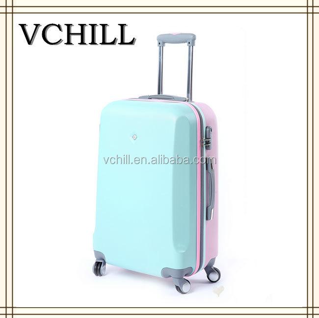 Cute Travel Hard Shell Gold Suitcase Luggage - Buy Suitcase ...