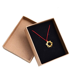 Factory Directly Custom Logo Square Grocery Paper Necklace Bracelets Earrings Jewelry Package Box