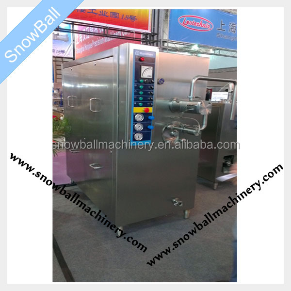 1200 L wooden case package continue freezer /high quality 1200L high quality ice cream continue freezing machine