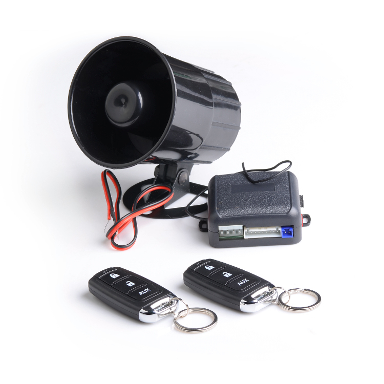 top selling manual max car alarm security system with 3 button, Wiring diagram