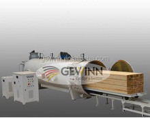 High Frequency wood/timber/board drying kiln with 6 CBM