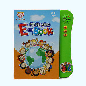 preschool spoken english learning materials e-learning bilingual learning machine childrens baby memory book