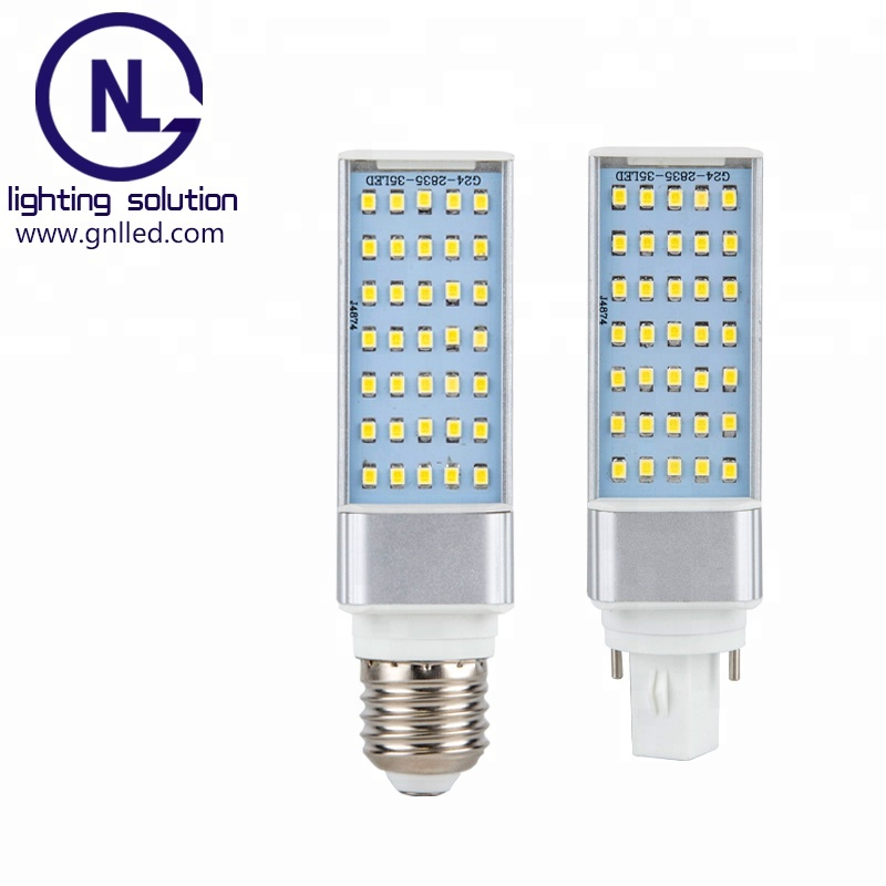 GNL G24 E27 LED PL Lamp Replacement CFL 120 Degree LED Corn Light G23 LED Light Bulb 13W 11W 9W 6W LED PL Lamp E27 G24 G23 LED