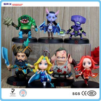 Custom dota 2 action figure, dota 2 toy pvc figures, oem dota 2 figure manufacturers