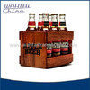 Wine Bottle Packing Crate 6 pack beer carrier