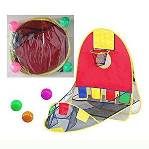 SICA Ball Pool Basketball Scoring Play Tent House Kids Basket Tent Beach Lawn Indoor Outdoor