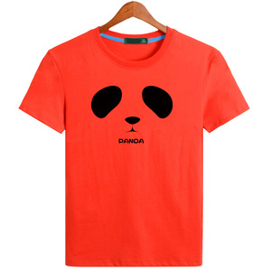 High quality simple panda pattern t shirt best quality printing shirts bulk wholesale