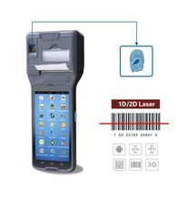 pda phone Smart android POS terminal portable printer CM550 fingerprint / bluetooth / GPS /NFC / UHF RFID touch screen handheld