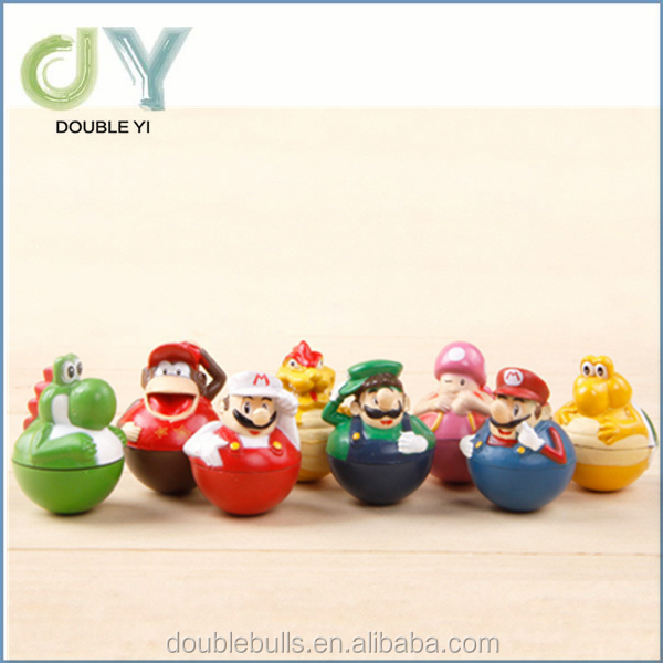 customized roly poly toy / Baby Tumbler Toy / custom plastic molding toys