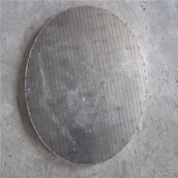 johnson v wedge wire slot sieve plate stainless mining sieve screen