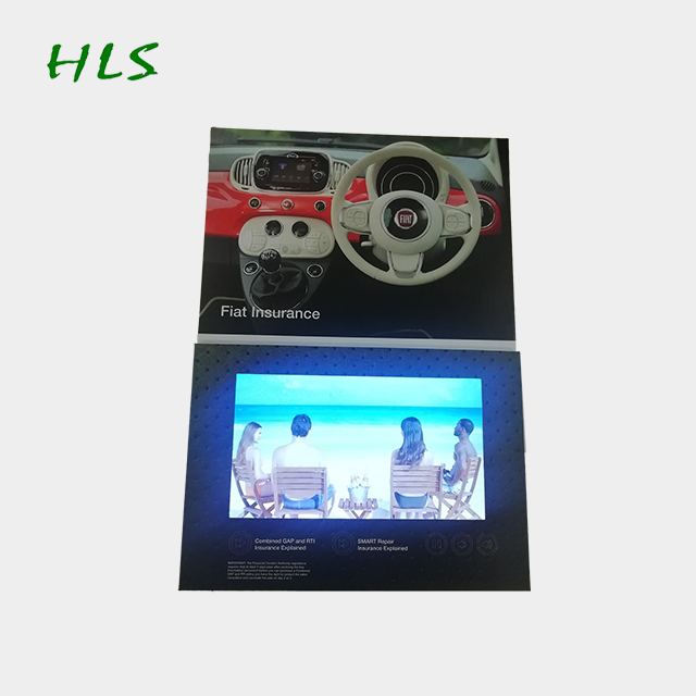 Hohe qualität hot billig 10,1 inch LCD video karte tft screen video gruß karte