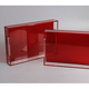 China wholesale rectangle Clear Acrylic Lucite Serving Tray for hotel