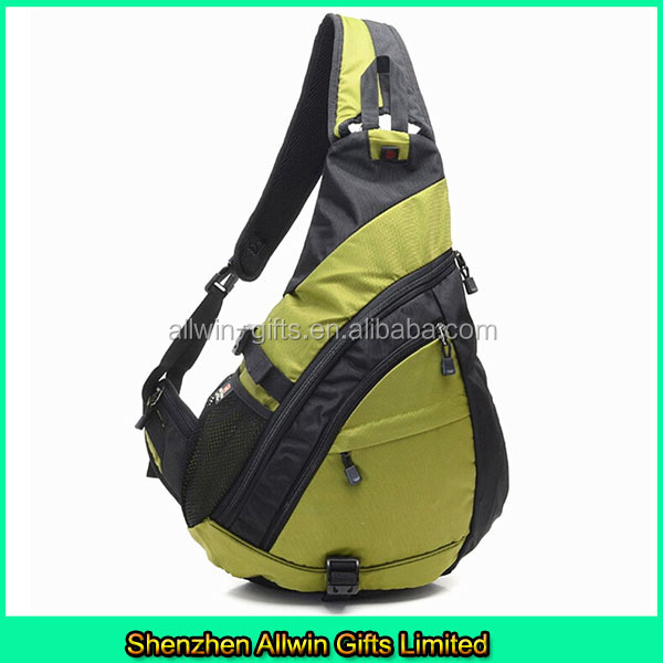 Sport backpack with one strap/one shoulder strap backpack