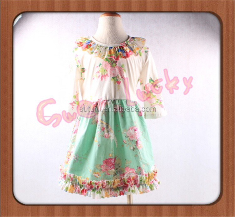 2015 Childrens Customs outfits girls easter bunny outfit party dresses vietnam babys clothing set export clothing for girls