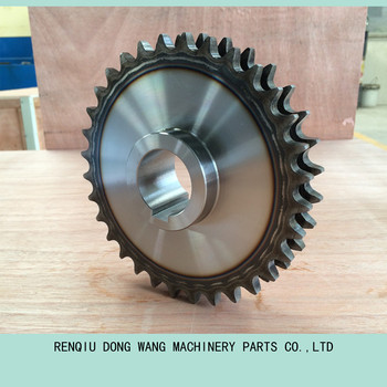 A B series standard double strands sprockets for roller chain