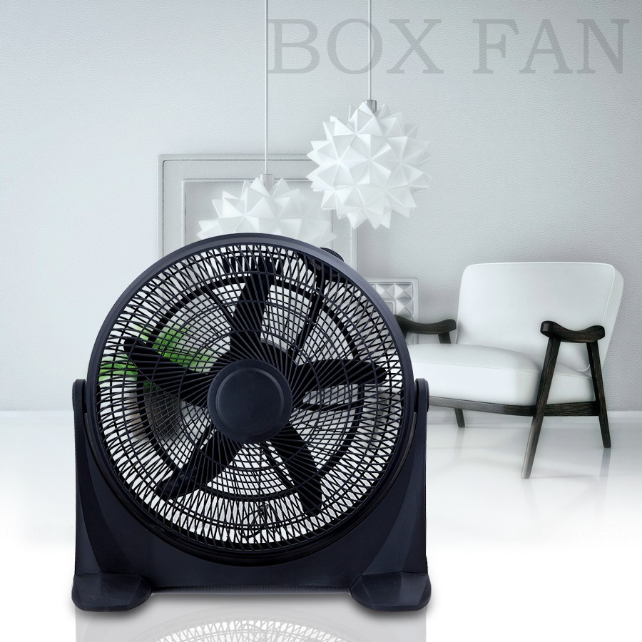 Electric power source cheap price plastic body air cooling fan18/20 inch box fan