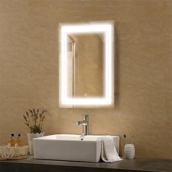 Decorative Bathroom Large Frameless Mirrors Mirror Product On