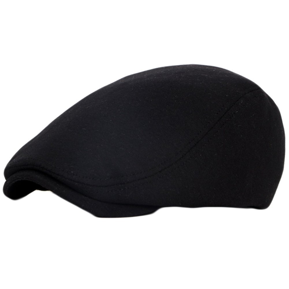 563bdeb4 Demarkt Retro Unisex Golf Driving Beret Newsboy Caps Hats Tweed Flat Cap  Classic Herringbone Tweed Ivy