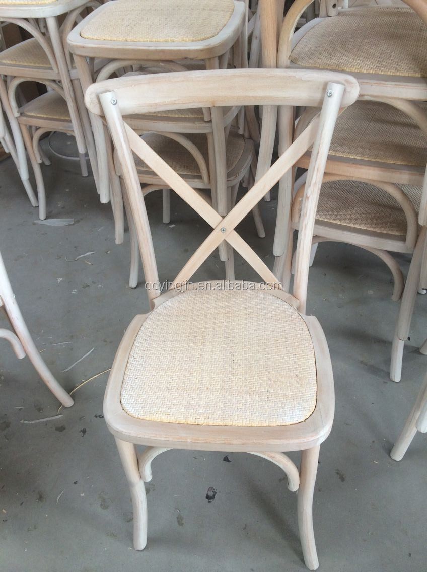 Straw Seat Wood Cross Chair For Dining Buy Cross Back