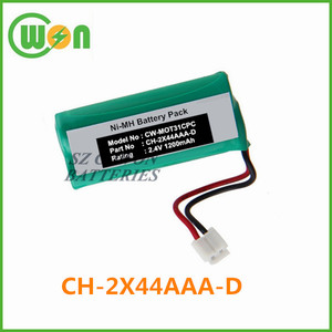 CH-2X44AAA-D battery for Motorola T31 T3101 T3151 RCA 27902 27909 27911  52734 H5401,battery for Uniden 3101 3111 6030 6031 6032