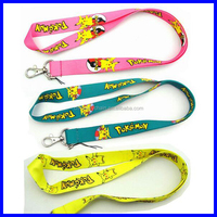 Pokemon Pikachu Mixed Lanyards For ID Badge Mobile Phone Key Chain